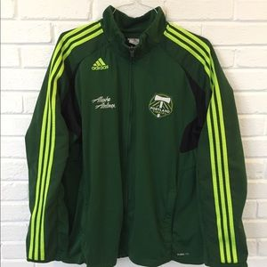 Men's Portland Timbers track jacket